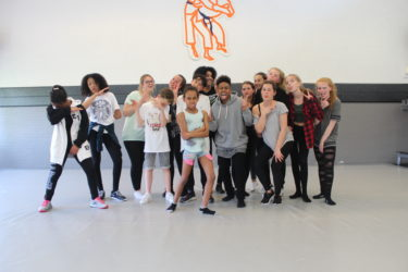 JME Agency Workshop Jersey Club intermediate for JME Allround kids and selected group of dancers