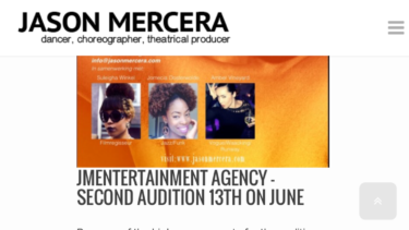 the second audition for jME Agency because of the many supplies
